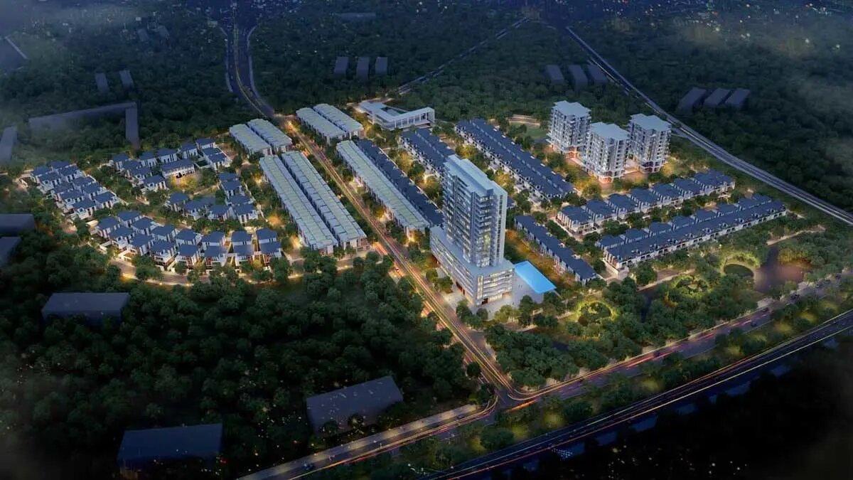 Phối cảnh Dự án Khu đô thị Park Hill Thành Công Vĩnh Yên