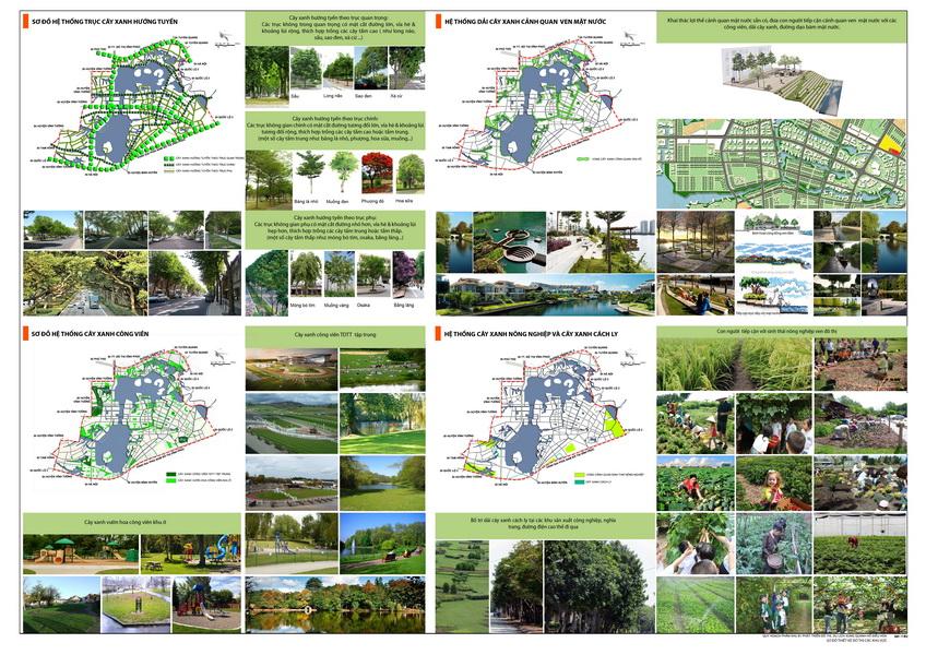 Thiết kế đô thị Quy hoạch phân khu B1 tỷ lệ 1/2000 phát triển đô thị du lịch khu vực xung quanh Hồ điều hòa thuộc huyện Bình Xuyên, thành phố Vĩnh Yên và huyện Yên Lạc, tỉnh Vĩnh Phúc