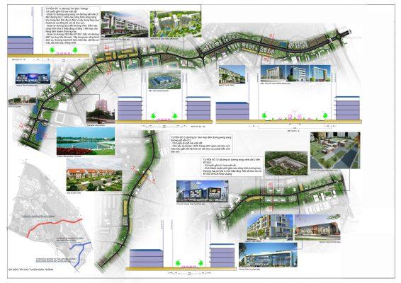 Thiết kế đô thị Quy hoạch tổng mặt bằng sử dụng đât Quy hoạch phân khu A5 tỷ lệ 1/2000 Phát triển đô thị trung tâm tại thành phố Vĩnh Yên và một phần đất đai huyện Bình Xuyên, huyện Tam Dương - Vĩnh Phúc