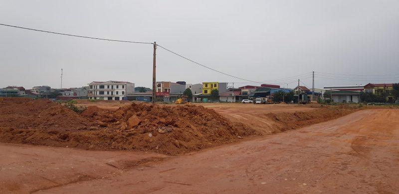 Tiến độ Dự án Khu chợ đầu mối Thổ Tang, Khu đô thị thương mại Vĩnh Tường Vĩnh Phúc