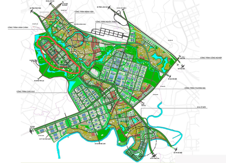 Dự án Khu đô thị Đồng Mong Bình Xuyên