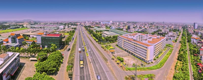 Phúc Yên sẽ trở thành trung tâm thành phố mới của Vĩnh Phúc trong tương lai.