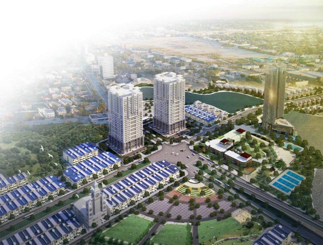 Phối cảnh Dự án Khu đô thị sinh thái Bắc Đầm Vạc Vĩnh Yên