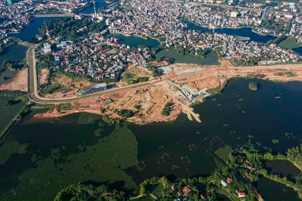 Tiến độ Dự án Khu đô thị sinh thái Bắc Đầm Vạc Vĩnh Yên
