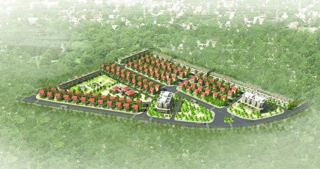 Phối cảnh Dự án Khu đô thị Hoàng Vân Mê Linh