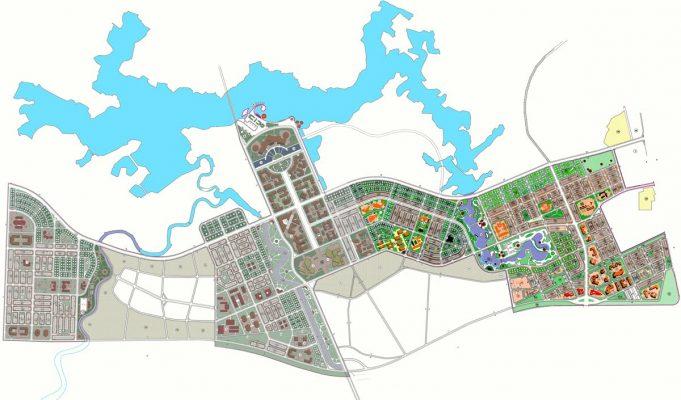 Quy hoạch tổng thể Khu đô thị Nam Vĩnh Yên