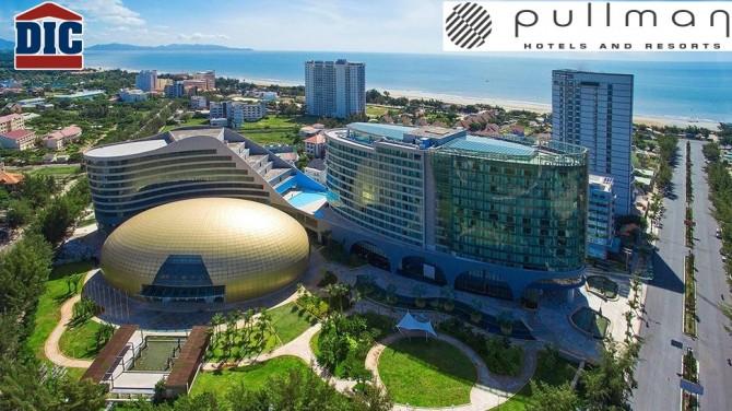 Tổ hợp trung tâm hội nghị – khách sạn Pullman Vũng Tàu -Chuẩn 5 sao đầu tiên tại TP.Vũng Tàu do DIC Corp làm chủ dầu tư