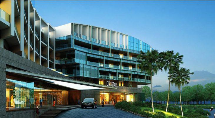 Khách sạn với thiết kế đẳng cấp sang trọng...