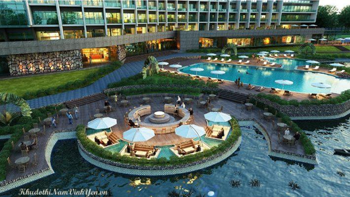 ...là nơi diễn ra các hoạt động nghỉ dưỡng, hội họp lớn trong và ngoài tỉnh