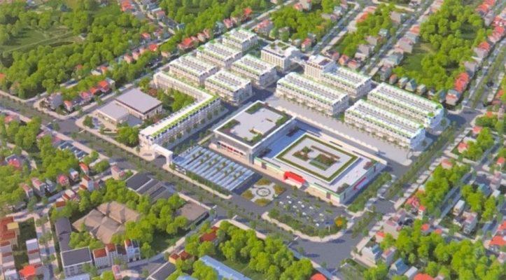 Phối cảnh Dự án Khu đô thị Paraiso City Vĩnh Phúc– Hà Minh Anh