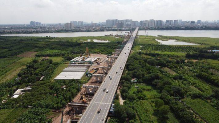 Cầu Vĩnh Tuy giai đoạn 2 đã khởi công vào đầu tháng 1