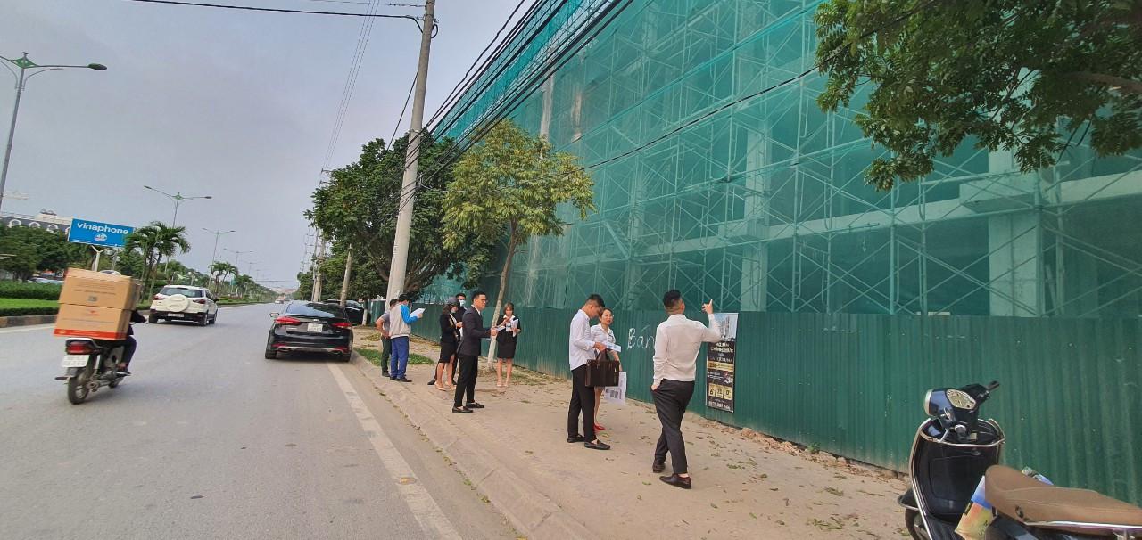 Hình ảnh thực tế Shophouse Vạn Cát mặt đường Nguyễn Tất Thành Vĩnh Yên